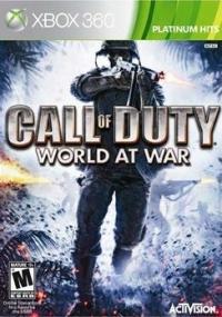 Call of Duty: World at War - Platinum Hits Box Art