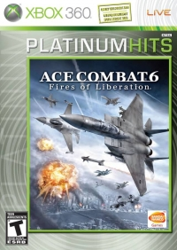 Ace Combat 6: Fires of Liberation - Platinum Hits Box Art