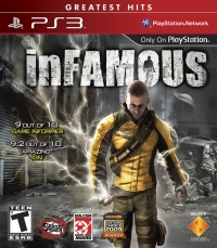 inFamous - Greatest Hits Box Art