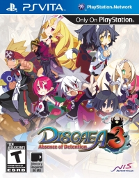 Disgaea 3: Absence of Detention Box Art