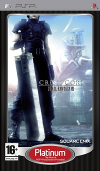Crisis Core: Final Fantasy VII - Platinum Box Art