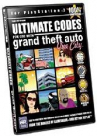 Action Replay Ultimate Codes - Grand Theft Auto Vice City Box Art
