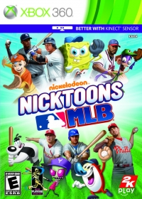 Nicktoons MLB Box Art