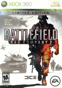 Battlefield: Bad Company 2 - Limited Edition Box Art