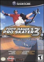 Tony Hawk's Pro Skater 3 Box Art