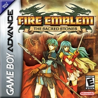 Fire Emblem: The Sacred Stones Box Art