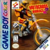 Motocross Maniacs 2 Box Art