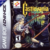 Castlevania: Circle of the Moon Box Art
