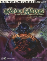 Baten Kaitos: Eternal Wings and the Lost Ocean - Official Strategy Guide Box Art
