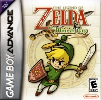 Legend of Zelda, The: The Minish Cap Box Art