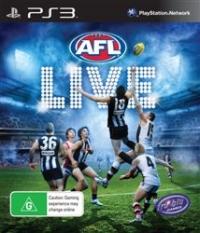AFL LIVE Box Art