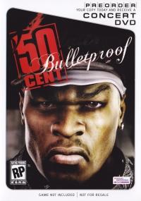 50 Cent: Bulletproof Preorder Concert DVD Box Art