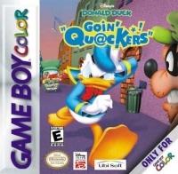 Disney's Donald Duck Goin' Quackers Box Art