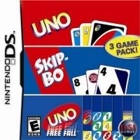 Uno / Skip-bo / Uno Free Fall Box Art