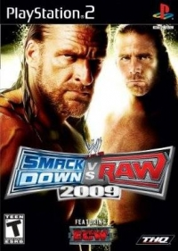 WWE Smackdown vs Raw 2009 Box Art