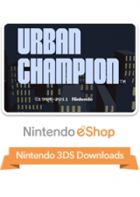 3D Classics: Urban Champion Box Art