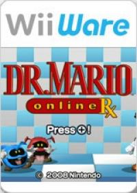 Dr. Mario: Online Rx Box Art