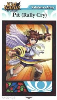 Kid Icarus Uprising AR Card Pack Gamer Magazine