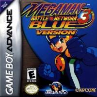Mega Man Battle Network 3: Blue Version Box Art