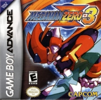 Mega Man Zero 3 Box Art