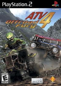ATV Offroad Fury 4 Box Art