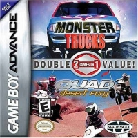 2 Games In 1 Double Value: Monster Trucks/Quad Desert Fury Box Art