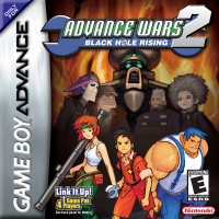 Advance Wars 2: Black Hole Rising Box Art