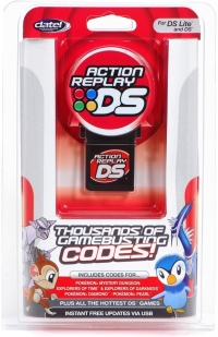Action Replay DS Box Art