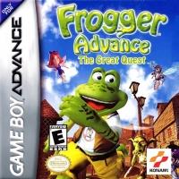 Frogger Advance: The Great Quest Box Art