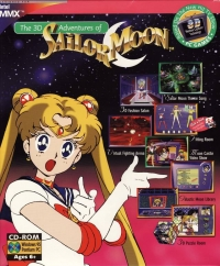 3D Adventures of Sailor Moon, The Box Art