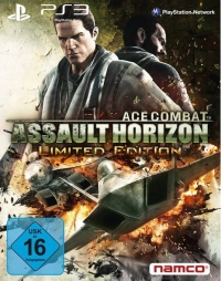 Ace Combat: Assault Horizon - Limited Edition Box Art