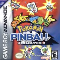 Pokémon Pinball: Ruby & Sapphire Box Art