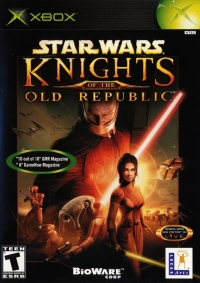 Star Wars: Knights of the Old Republic Box Art