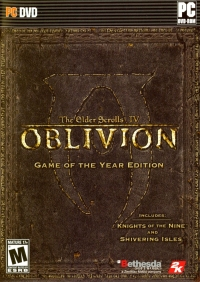 Elder Scrolls IV, The: Oblivion - Game of the Year Edition Box Art