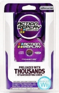 Datel Action Replay for GameCube Box Art