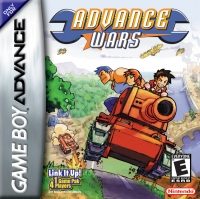 Advance Wars Box Art