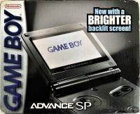 Nintendo Game Boy Advance SP - Graphite Box Art