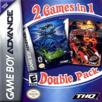2 Games In 1 Double Pack: Hot Wheels: Velocity X / Hot Wheels: World Race Box Art