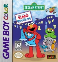 Adventures of Elmo in Grouchland, The Box Art
