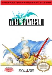 Final Fantasy III Box Art