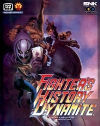 Fighter's History Dynamite Box Art