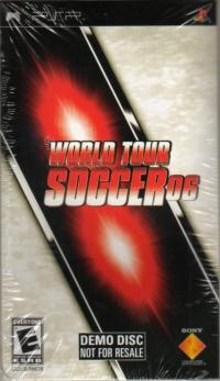 World Tour Soccer 06 Demo Disc Box Art