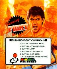Burning Fight Box Art