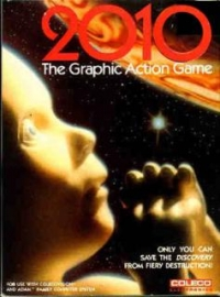 2010: The Graphic Action Game Box Art