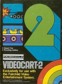 Videocart  2: Desert Fox Box Art