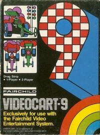 Videocart  9: Drag Strip Box Art