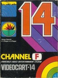 Videocart 14: Sonar Search Box Art