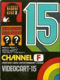 Videocart 15: Memory Match Box Art
