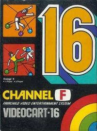 Videocart 16: Dodge It Box Art