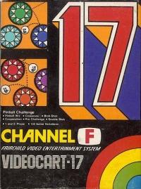 Videocart 17: Pinball Challenge Box Art